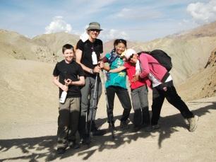 high in the desert