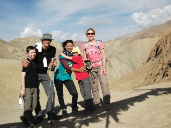 We made great time up the moutain, the rest day had worked wonders on every one.