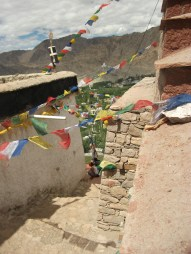 Prayer Flags at the Castle