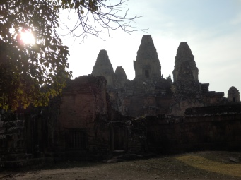 The size of Ankor Wat make it the largest religious structure in the world.