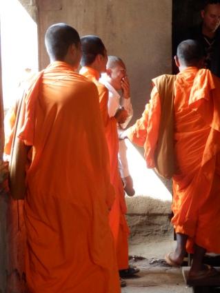 Ankor Wat is still a temple