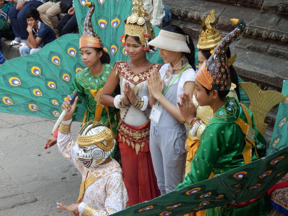 Show at Ankor Wat
