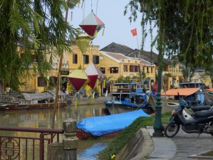 Lanterns and Boats - Hoi An