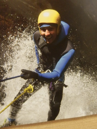 I went Canyoning and kept my arm!