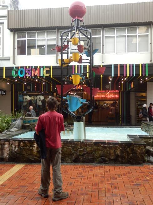 Water clock - Kiwi style