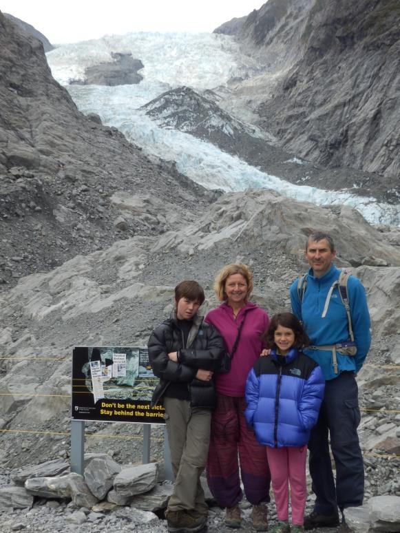 Franz Joseph Glacier and friends