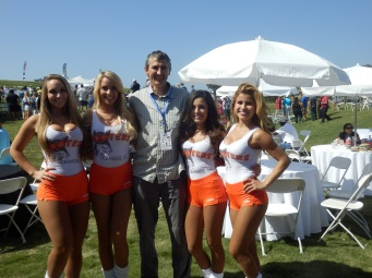 Meeting the corperate world (Hooters).