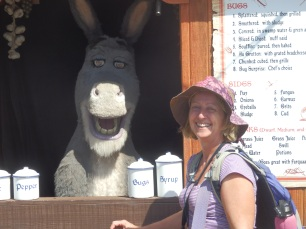 This donkey had all the jive talk, it had us in fits.