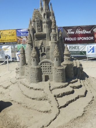 Now that is what I call a sandcastle